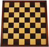 Large English Antique Chess Board